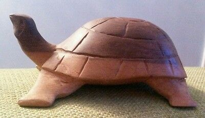 Wooden Unusual Turtle Tortoise Treen Ornament