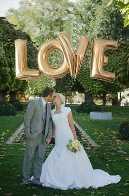 Love Foil Balloons 16 inch Helium Valentine Wedding Party Decoration Engagement