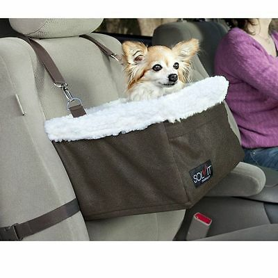 Solvit Medium Tagalong Booster Seat Dogs Pet Car Seat with Tether Small Dogs
