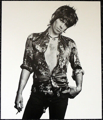 The Rolling Stones Poster Page 1974 Keith Richards . Y4