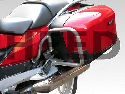 Paramotore HEED BMW R 1200 RT (05-13) - argento, posteriore protezione