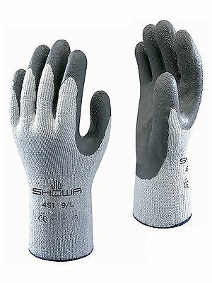 Showa 451 Thermo Work Wear Gloves Thermal Winter Super Warm Safety Grippers