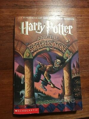 Harry Potter and the Sorcerer's Stone JK Rowling 1st American Edition.