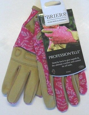 Briers Profession 'ELLE' Ladies Gardening Gloves Pink