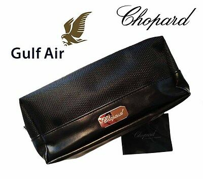 CHOPARD Kulturtasche Business Class GULF AIR Bag Etui Lotion Lippenstift Socken