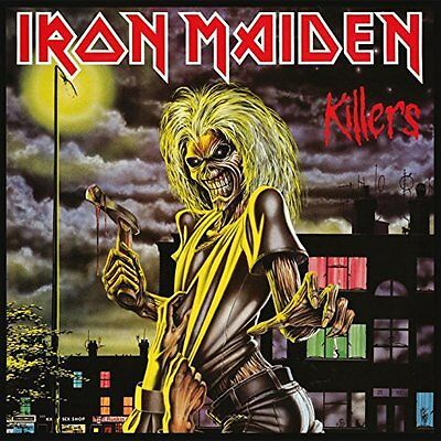 IRON MAIDEN Killers 180gm Vinyl LP NEW & SEALED