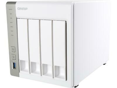 QNAP 4-bay Personal Cloud NAS with DLNA, Mobile Apps and AirPlay support. ARM Co
