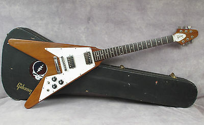 1979 Gibson Flying V - Natural - Excellent 9/10 - Andy Baxter Bass & Guitars