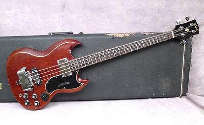 1969 Gibson Eb3 - Cherry - Andy Baxter Bass