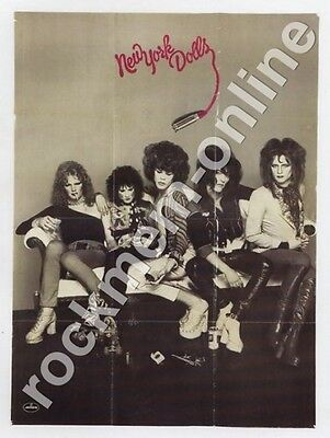 New York Dolls Reproduction Poster