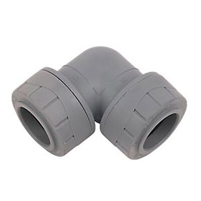 POLYPLUMB 22MM ELBOW - Quality Push Fit Plumbing Fittings (PB122)