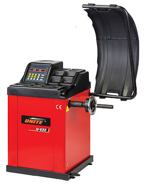 "Unite U-820 24"" Semi Automatic Motorised Wheel / Tyre Balancer / Machine"