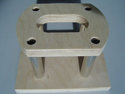 """External Tonearm Base For SME 3012, 312 and M2 12"""" For Almost All Turntables"""