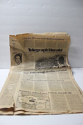 Vintage TH Telegraph Herald Dubuque Iowa Newspaper Section December 1978 Ads Pic