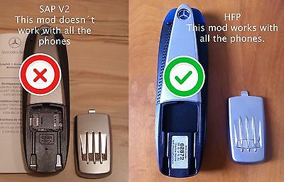 BLUETOOTH MERCEDES HFP (not the SAP V2), COMPATIBLE WITH ALL MOBILES. GUARANTEED