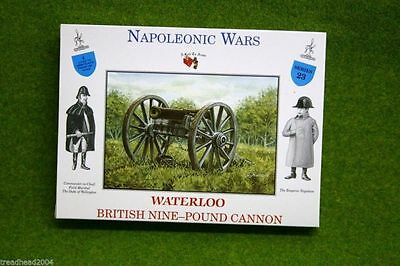 British Nine Pound Cannon Waterloo 1/32 Call To Arms 23