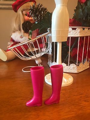 Vintage Barbie Doll Japan Boots Marked Japan  On Both. Nice Condition!