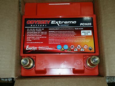 Odyssey Extreme Racing 35 / PC925 Battery - Race/Oval/Rally/Motorsport/Dry Cell