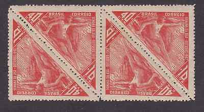 Brazil Stamps 1947 Unmounted Mint - Aviation Week - Block Of 4 Stamps