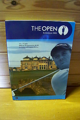 The Open Golf Programme  2005 St.Andrews
