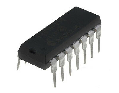 Microchip PIC 14-Pin Microcontroller PIC16F676-I/P NEW