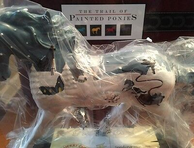 VINTAGE GREETINGS, Trail Of Painted Ponies, 1E 1464, NEW Resin Figurine, Box,Tag