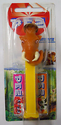 STILL SEALED! 2009 European PEZ Ice Age: Dawn of the Dinosaurs Dispenser-Manny