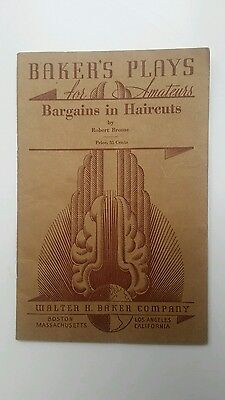 BAKERS PLAYS 1940 Bargains in Haircuts by Brome                             (63)