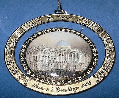 1995 Official US United States Congressional Holiday Christmas Ornament