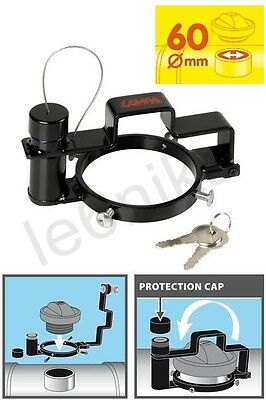 Fuel Tank Anti-Theft Device Security Protect Cap 60 mm for Trucks Lorry Tractors