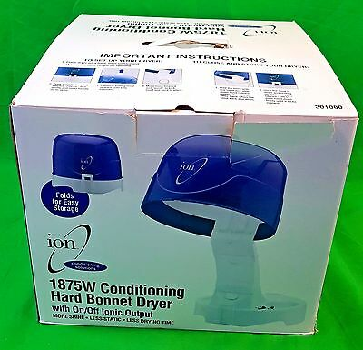 Ion 301080 1875W Conditioning Hard Bonnet Dryer