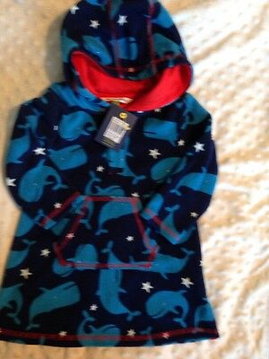 John Lewis Baby Boys Swimming Cover Up 6-9 Months New With Tags