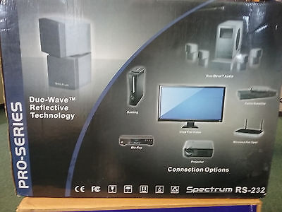 SPECTRUM RS-232 HOME Theater System Surround Sound Speakers with ...