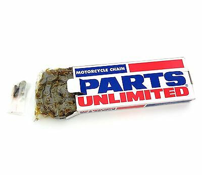 Parts Unlimited - Standard Motorcycle Drive Chain - 420 - 102L 102 Link CT70