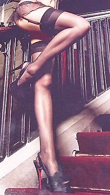 Sheer, Thigh High with Back Seam, Stockings, Baci Lingerie, O/S