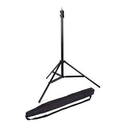 Photo 9ft Heavy Duty Light Stand Air Cushioned Studio Lighting Tripod With Case