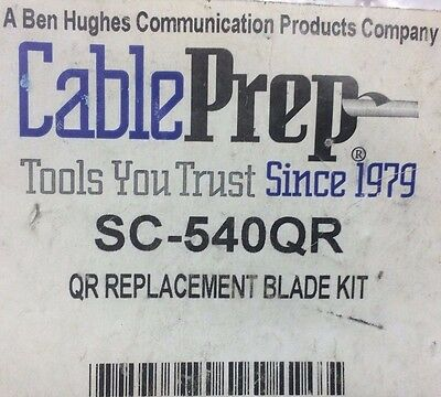 *NEW* Cable Prep SC-540QR Replacement Blade Kit