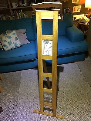 Unique Folding Solid Wood Lectern In Homage To Charles Rennie Mackintosh