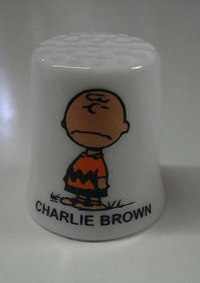 Charlie Brown Collectible Porcelain Thimbles