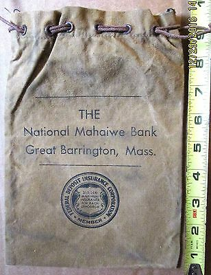 Vintage Collectible The National  Mahawie  Bank Gt. Barrington  Mass