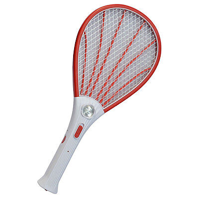 Rechargeable Electric Insect Bug Fly Mosquito Zappers Swatter Killer Racket Tool