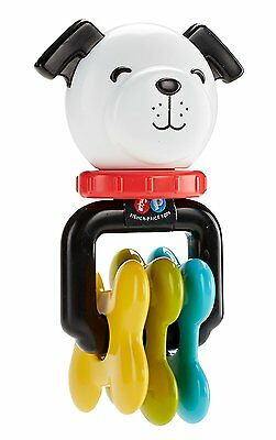 Fisher-Price Infant Baby Puppy Rattle 3M+