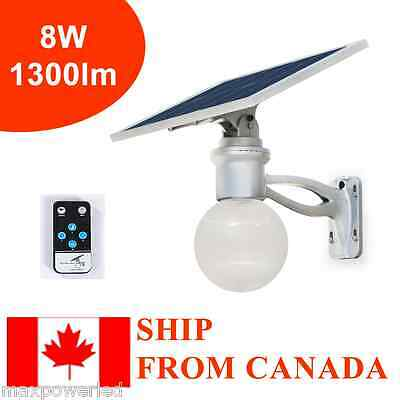 2pcs 8W outdoor Solar LED yard light, Solar Street light w/ motion sensor