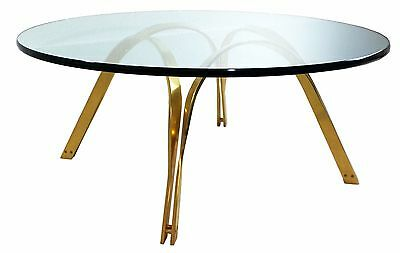 Mid Century Modern Roger Sprunger Reversible Brass Coffee Cocktail Table