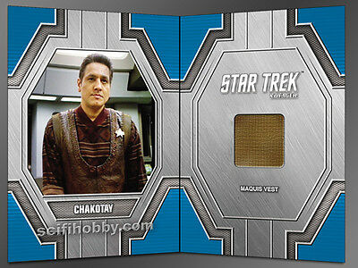 Star Trek 50th Anniversary RC33 Chakotay Relic