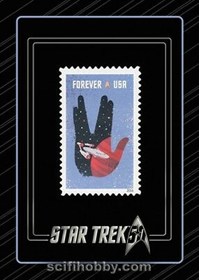 Star Trek 50th Anniversary S4 Commemorative Stamp