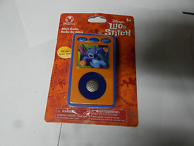 Lilo And Stitch FM Auto Scan Radio, New In Package, Never Opened. Swtch Rad, Bx2
