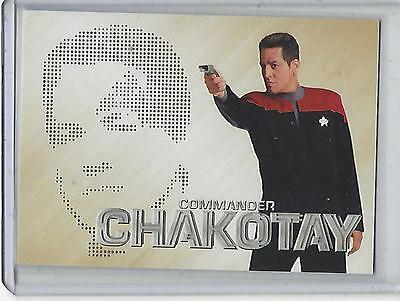Star Trek 50th Anniversary PC08 Phaser Cut Commander Chakotay