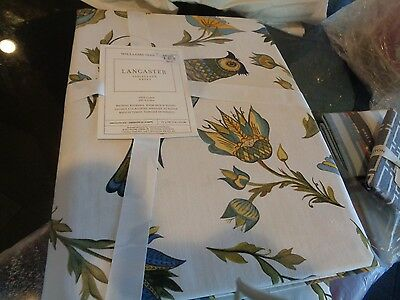 Williams Sonoma Lancaster tablecloth 70 X 108  New with tag