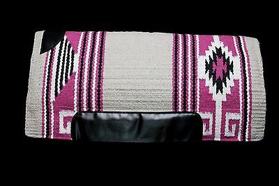 Lariat Showin' Off Western Layered Saddle Pad Pink Aztec FREE SHIPPING!